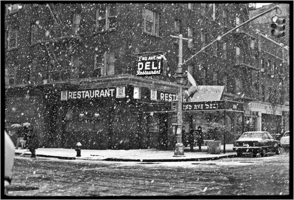 Black Women White Men Love >> Second Avenue Deli Snow   Matt Weber New York Photography Store