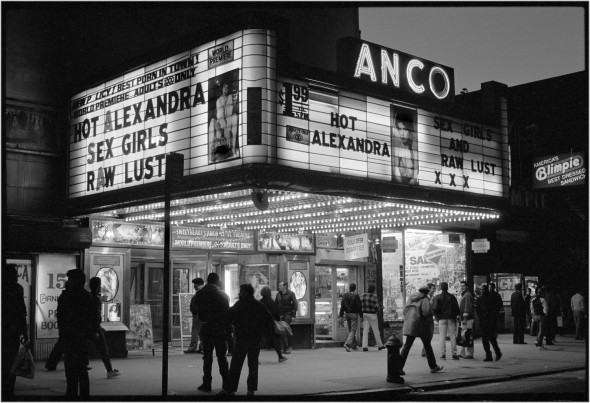 Anco Theater 1985 Matt Weber New York Photography Store