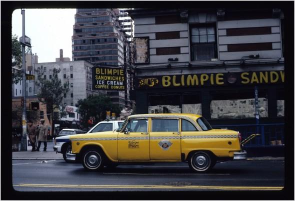 checker-taxi-nyc