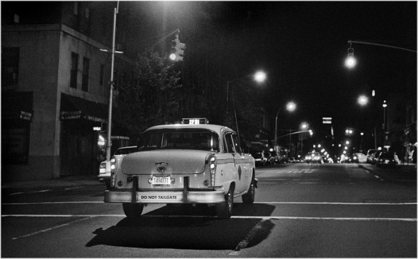 Checker Taxi Working the Night Shift 1989