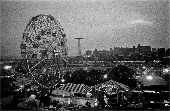 Coney Island Dusk (Horizontal) 2007