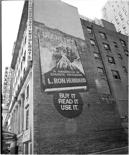 scientology dianetics mural