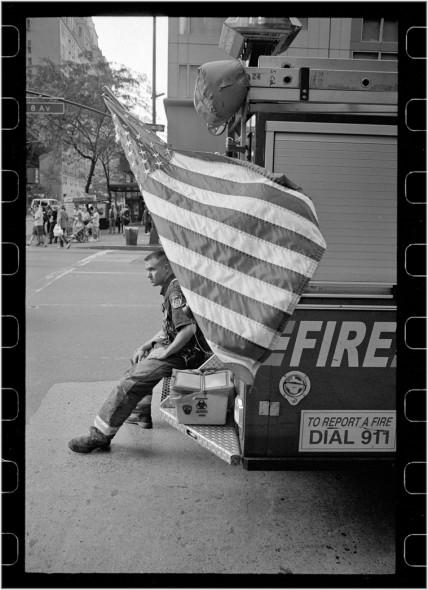 fireman-flag-matt-weber