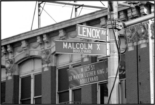 Harlem-MLK-Malcolm-X-Signs-1989-4k copy