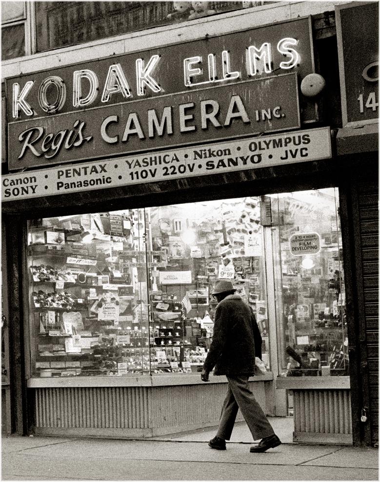 kodak sign times 1993 york weber neon matt sq square street photographs mattweberphotos