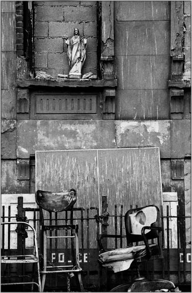 Jesus Statue in Harlem