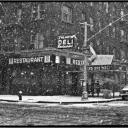 Second Avenue Deli Snow