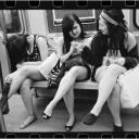 3 Women Legs Crossed 2005