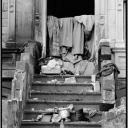 Harlem Stoop 1989