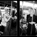 Subway Women Diptych (E-Mail For Price)
