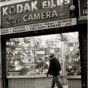 Old Kodak Neon Sign Times Sq. 1993