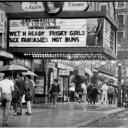 """Rainy Day"" Times Sq 1990"