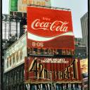 """42d Street Musical"" Times Square 1985"