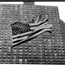 American Flag and Projects Harlem 2003