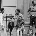 Harlem Family on Stoop