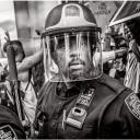 Policeman at Black Lives Matter Protest 2020